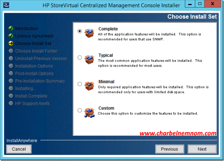 hp storevirtual centralized management console user guide