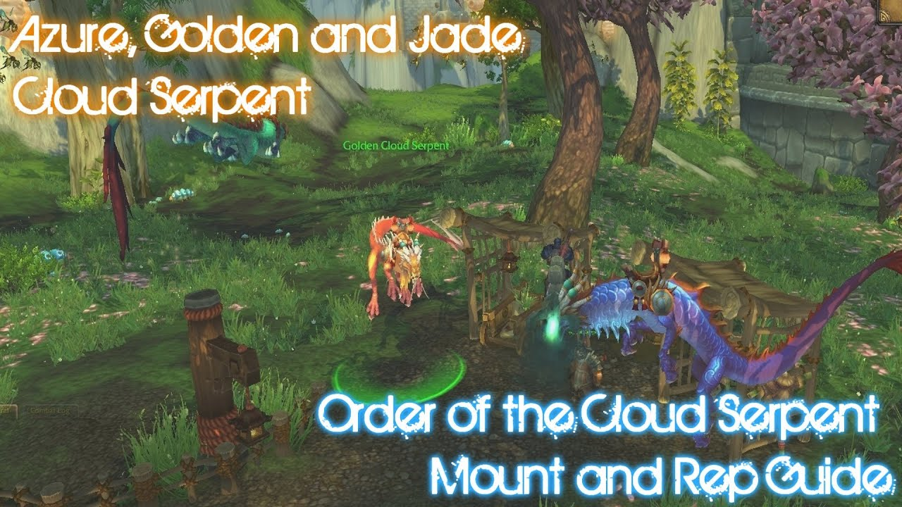 order of the cloud serpent guide