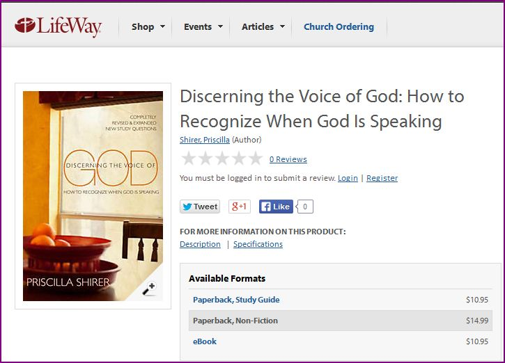 discerning the voice of god study guide