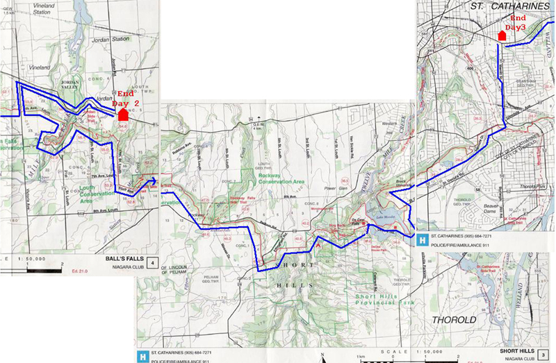the bruce trail reference guide