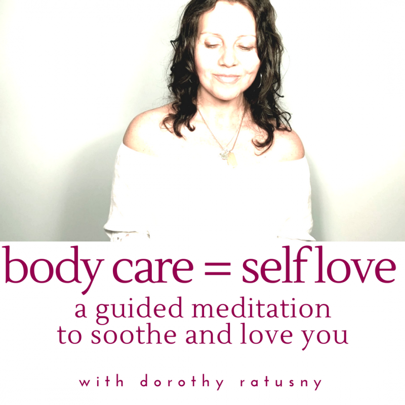 guided meditation for self love