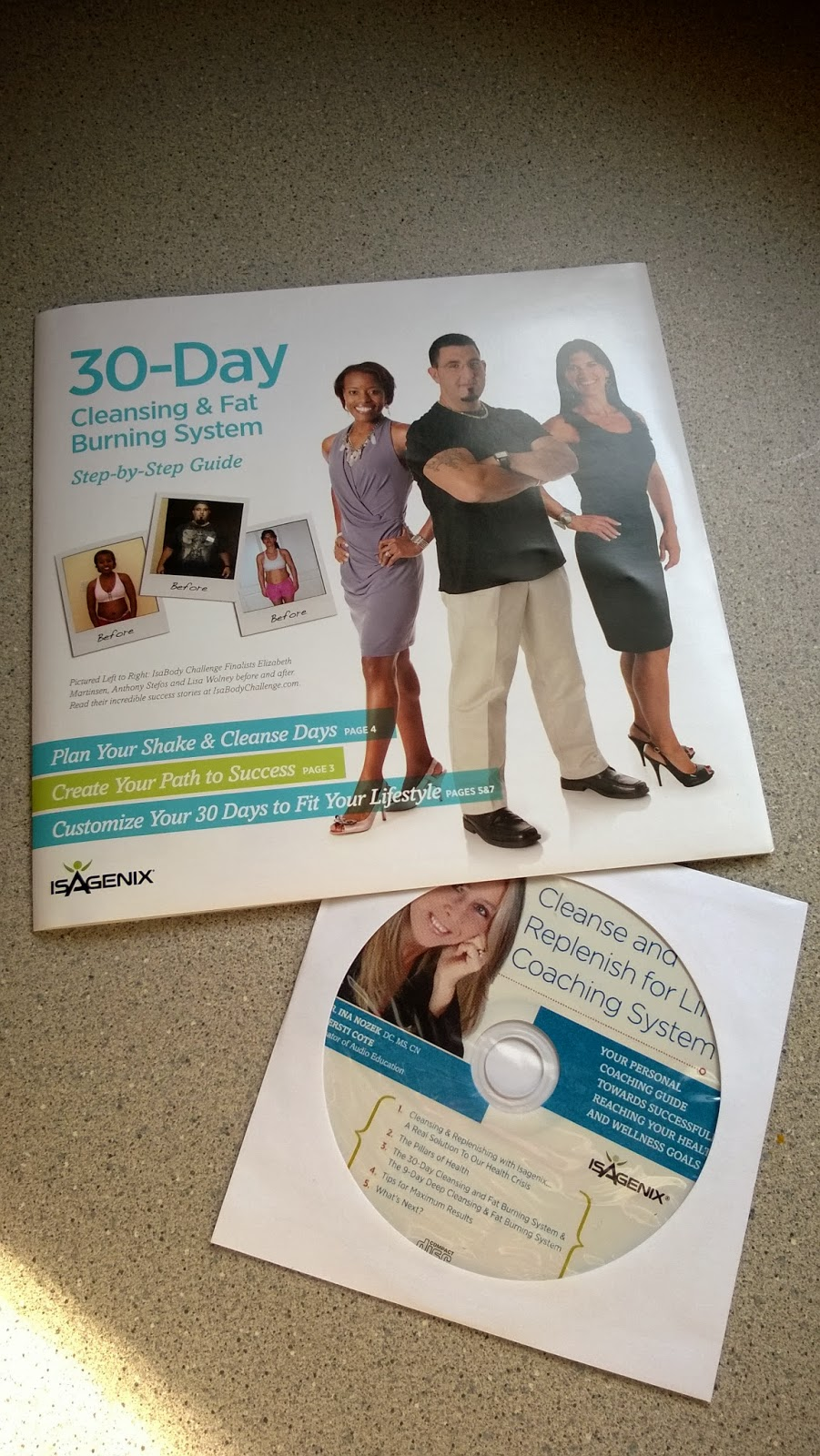isagenix 30 day step by step guide